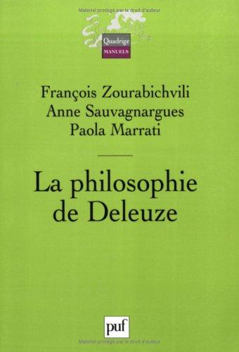 La philosophie de Deleuze par Paola Marrati