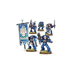 Games Workshop - 99120101028 - Warhammer 40.000 - Figurine - Esc. De Commandement Space Marine