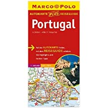 Marco Polo Autokarte plus Reiseguide Portugal 1:300 000