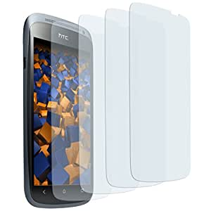 4 x mumbi Displayschutzfolie HTC One S Schutzfolie CrystalClear unsichtbar