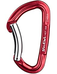 Salewa Hot G3 Bent - Mosquetón, color rojo, talla única