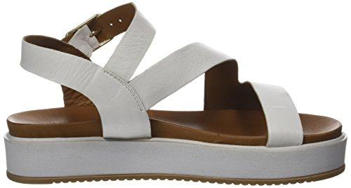 Inuovo - 7320, Laccetto alla caviglia Donna Bianco