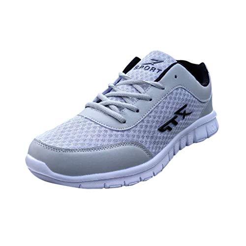 Oyedens Scarpe da Corsa Cuscino d'Aria Donna Uomo Fitness Scarpe da Ginnastica Corsa Running Sneakers Casual all'Aperto