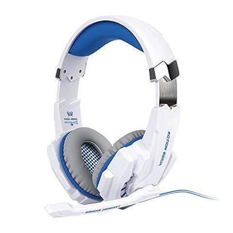 Tsing-Auriculares-Cascos-Gaming-de-Diadema-Abiertos-con-Micrfono-para-Porttiles-PS4-Mviles-Tablet