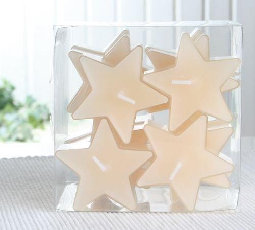 Duft-Sternenlicht, transparente Hülle, 12er-Sparpack, Vanille