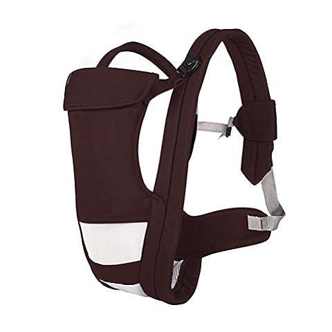 Baby-Träger Breathable Hüft-Sitzträger Ergonomisches Design Variety Carry Ways mit abnehmbarem Sitz Tragbarer Multifunktions-Rucksackträger Max 20kg