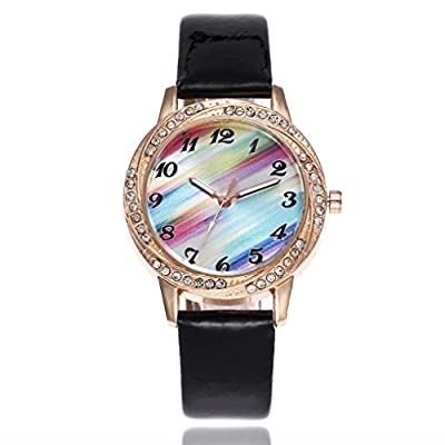 Absolute Cheap!!! But Looks Really Expensive Female Watch- Cute Owl Women Ladies Girls Watch Simple Fashion Design Dial Quartz Analog Leather Band Wrist Watch