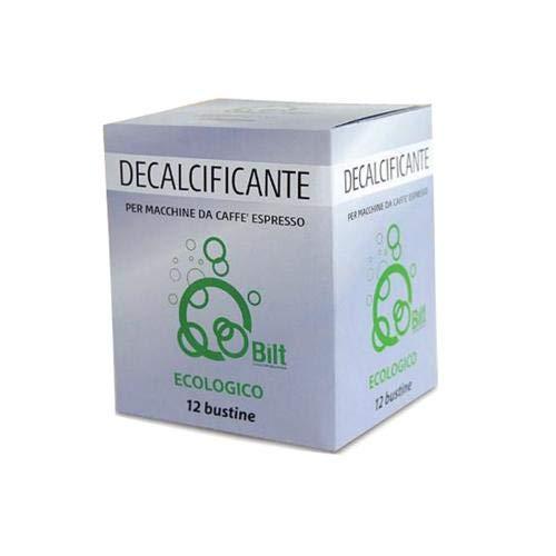 12 Bustine Decalcificante Ecologico Bilt Per Macchine Da Caffe\' Espresso
