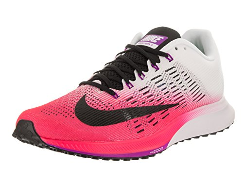 Nike Wmns Air Zoom Elite 9, Zapatillas de Running para Mujer, Rosa (Racer Pink/White/Vivid Purple/Black), 40 EU