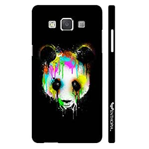 Samsung Galaxy A3 Dripping Panda designer mobile hard shell case by Enthopia