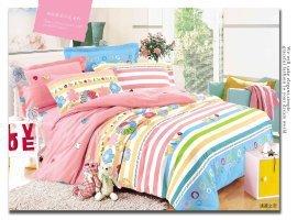 Warmsun 200X230CM 1.5-1.8m cama de algodón doble cordón de lijado 4 Establece serie lecho de la manera