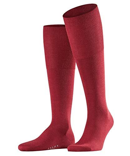 Falke airport, calze al ginocchio uomo, rubino, 43-44