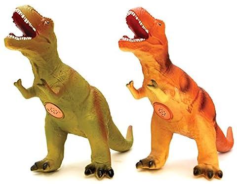 Globo Toys Globo - 37427 50 cm 2 Colour T-Rex Soft Dinosaur