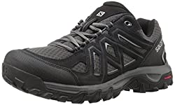 Salomon Men's Evasion 2 Aero Hiking Shoe, Blackmagnetalloy, 11 Uk (11.5 Us)