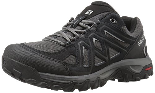 Salomon Evasion 2 Aero, Scarpe da Hiking Uomo, Nero (Black/Magnet/Alloy), 44 EU