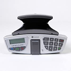 kit mains libres au volant voiture bluetooth lecteur mp3 transmetteur fm high tech. Black Bedroom Furniture Sets. Home Design Ideas