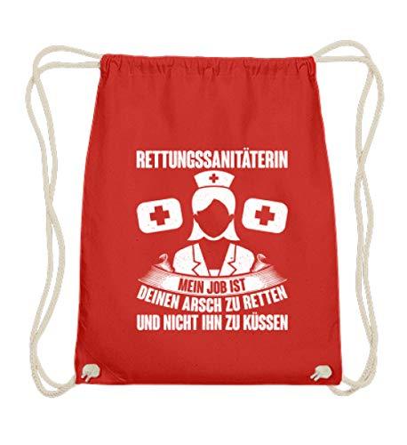 Chorchester Für jede Rettungs-Sanitäterin - Baumwoll Gymsac -