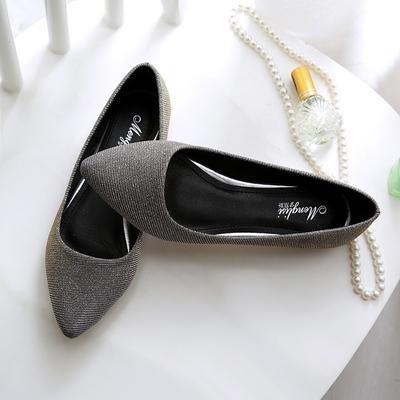 &qq Chaussures, chaussures pour femmes, chaussures à talon plat, chaussures professionnelles quatre saisons, chaussures de mode 40