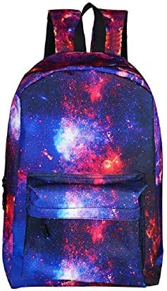 ZHRUI Novel Starry Series Shoulder School School School Bag Zaino alla moda per laptop | Acquisto