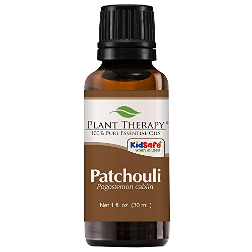 Patchouli Essential Oil. 30 ml (1 oz). 100% Pure, Undiluted, Therapeutic Grade. by Plant Therapy Essential Oils