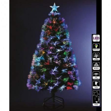 Sapin de Noël artificiel fibre optique