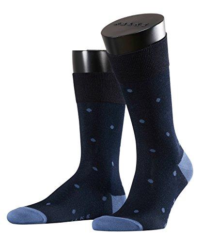 FALKE Herren Socken Dot, Blau (Dark Navy 6377), 43/46