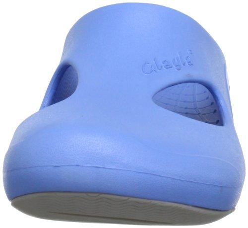 Glagla Playa Unisex-Erwachsene Clogs Blau (014 metal blue)