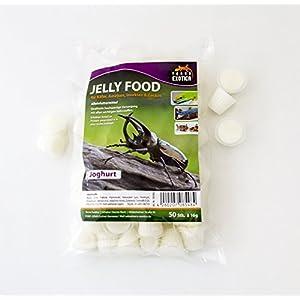 Jelly Food - Joghurt 50 Stück im Beutel , Fruitjelly , Beetlejelly - Yogurt 50 x je 16g