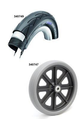 Dietz TAiMA XC Ersatzschlauch Original Zubehör 12-Zoll Schlauch für Rollator