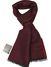 Lovarzi Fine Wool Merino Scarf - Winter Scarves for Men and Women - Made in Italy