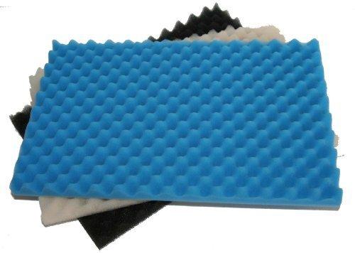 Fisch Teich 3 Stück Schaumstoff-Filter-schwamm-Set - 17