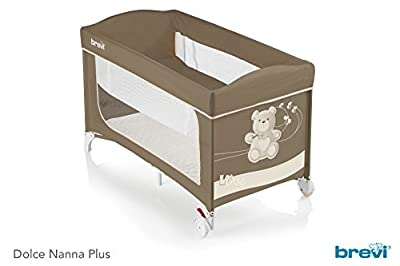 Brevi Dolce Nanna Plus cama paraguas con Kit Alzador Little Bear