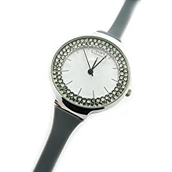 Dual watch 'Sissi' gray.