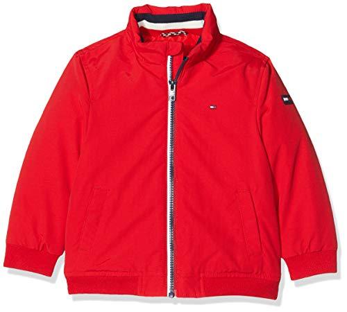 Tommy Hilfiger Dg Essential Jacket Chaqueta, Red Xa9, 140 Talla del Fabricante: 10 para Niños