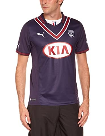 Puma FCGB Home Maillot football homme New Navy FR : 44/46 (Taille Fabricant : S)