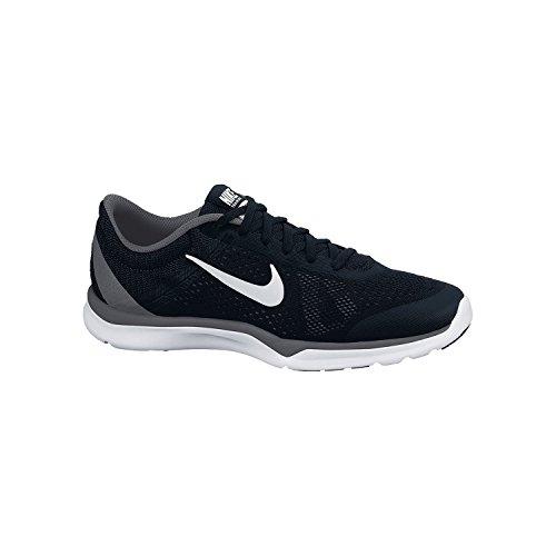 Nike Unisex-Erwachsene Wmns Season Tr 5 Turnschuhe Black (Schwarz / Weiß-Dunkelgrau-Anthrct)