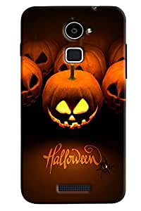 Omnam Halloween Printed Designer Back Cover Case For Coolpad Note 3 Lite