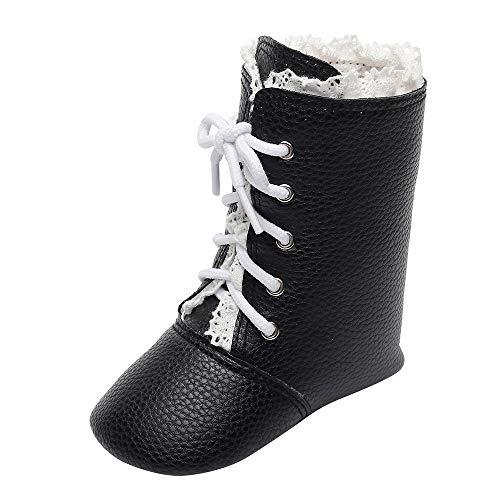 3e79ce6a ALIKEEY Bebés Recién Nacidos Niños Niñas Cuna Invierno Botas Prewalker  Caliente Martin Zapatos Recién Bebe Calzado