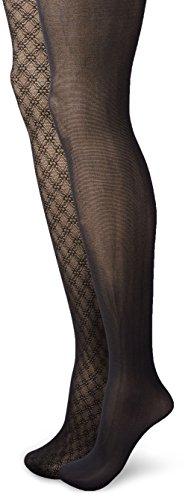 isaac-mizrahi-new-york-womens-scallop-textured-tights-2-pack-black-medium-large