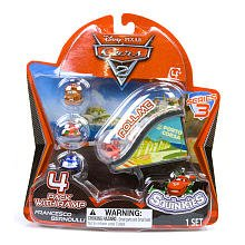 Squinkies Cars 2 Series 3 Bubble Pack with Ramp