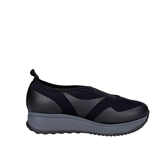Cinzia Soft IAB661459 002 Slip-on Chaussures Femme Élastique Noir Noir