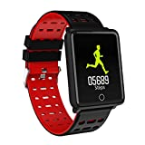 Haludock 1.44 TFT Screen Multifunktion Smart Watch Heart Rate Sleep Monitor Bracelet Pedometer Wristband für iOS Android