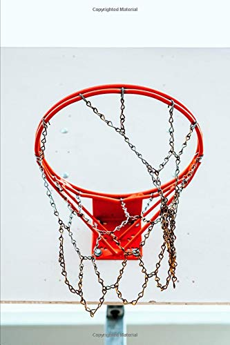 Basketball - Chain Link Open Notebook: Sermon Notes Journal for Church Note-Taking