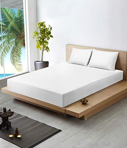Utopia Bedding Sábana Algodón Premium Fundas Almohada