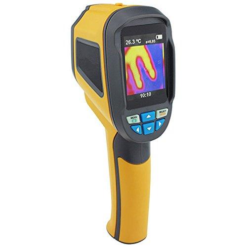 Cámaras termográficas Infrarrojo portátil de mano Cámara de imágenes térmicas digitales IR Medición 60x60 4GB Tarjeta SD Para Construcción Eléctrica, Manufactura, Industria Eléctrica