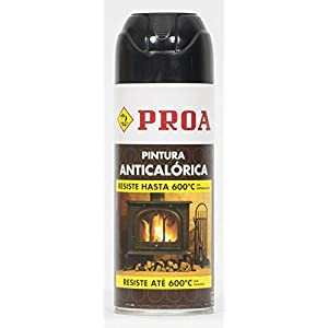 SPRAY Anticalorico negro 600º PROA