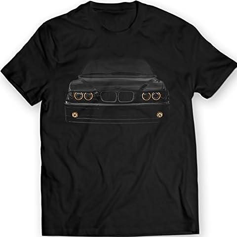 BMW E39 530 Camiseta Angel Eyes Faros Delanteros Glow 100% Algodón