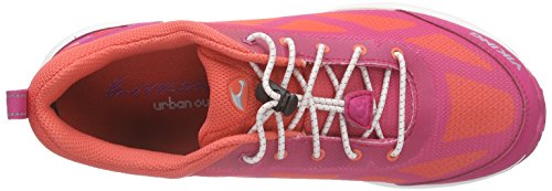 Viking Svenner Gtx, Baskets Basses mixte enfant Rose - Pink (Dark Pink/Coral 3951)