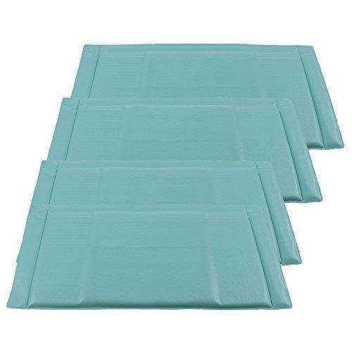 Qualtex - Anti Kühl-/ Gefrierschrank Frost Nahrungs Matte - Verhindert Frost Eis Abtauen Matte Blau