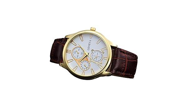 Sportuhr Damen Rosegold : Retro design armbanduhr herren dorame männer 2018 neue lederband